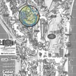 """Hier befindet sich """"Dinosaurs Alive"""" © Cedar Point/ThemePark-Central.de"""