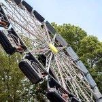 """Ein letzter Blick auf """"Whitches Wheel"""" © Cedar Point"""