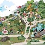 Der Parkplan zur Eröffnung © Cita Parc