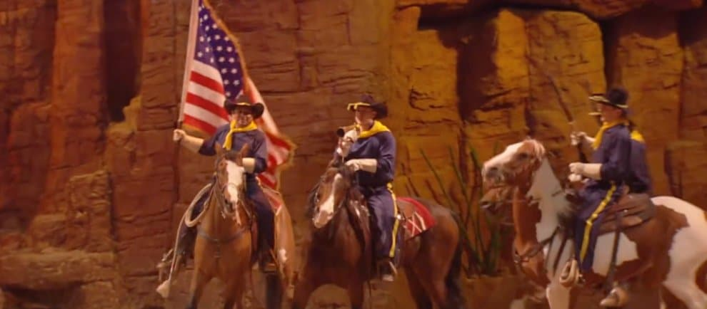 """Buffalo Bills Wildwest Show"" © Disneyland Paris"