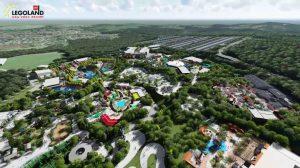 Ein Blick auf das zukünftige Legoland New York Resort © Merlin Entertainments