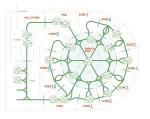 """So könnte ein """"Erratic Ride XL"""" schematisch aussehen. © Alterface"""
