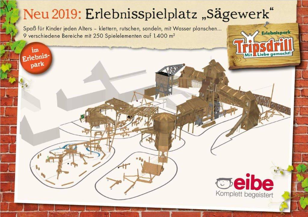 Projet futur : Remplaçant de la mine d'or - Page 2 Erlebnispark-Tripsdrill-Saegewerk-Konzept