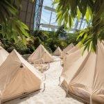 Die Safari Zelte sind eine spannende Übernachtungsmöglichkeit. © Tropical Islands