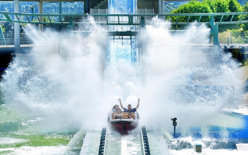 Freizeitpark Klotten Wasserbahn 1