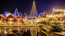 Während der Weihnachtszeit versprüht der Park ein ganz besonderes Ambiente © Liseberg
