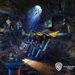 Batman typisch ist die Szenerie sehr unheimlich © Warner Bros. World
