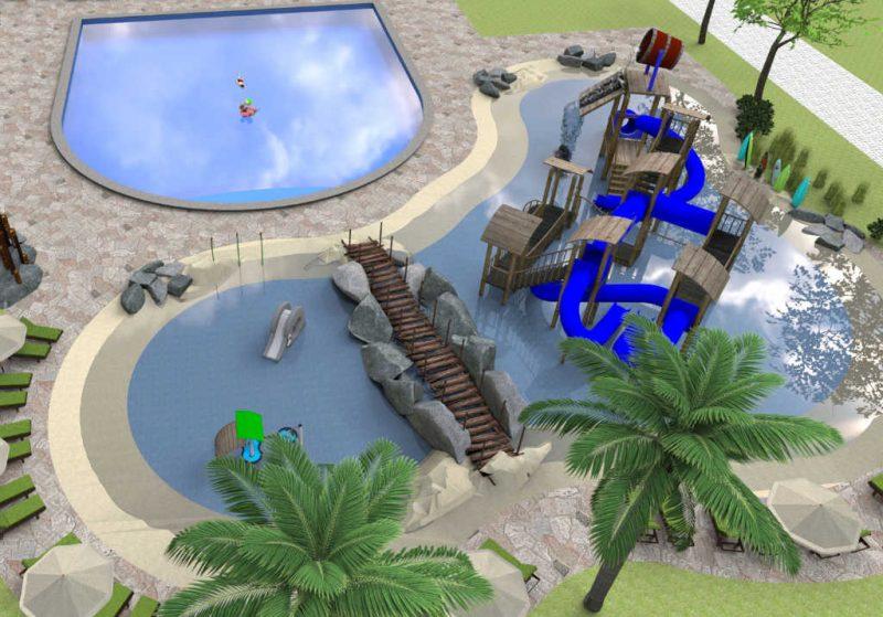 Duinrell Tikibad Aussenbereich 2019 Konzept