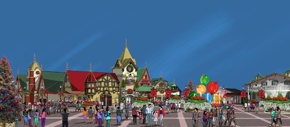 Holiday World Christmas Expansion 19 Concept