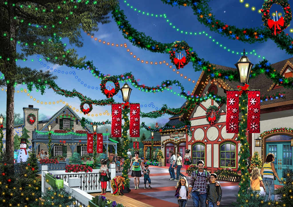 Holiday World Santas Merry Marketplace Concept 1
