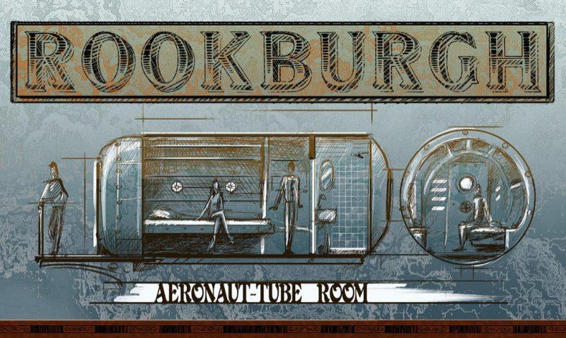 Phantasialand Rookburgh Hotel Zimmer Konzept