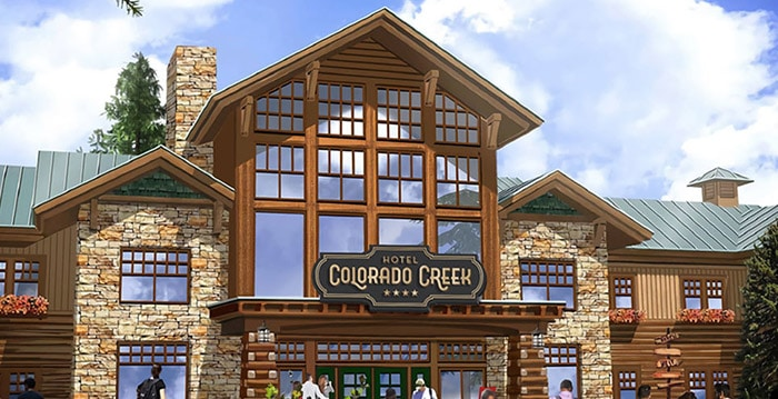 Port Aventura Colorado Creek Hotel Konzept