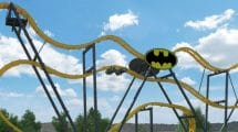 """Batman - The Ride"" wird die 10. Achterbahn im Park werden. © Six Flags Discovery Kingdom"