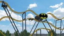 """""""Batman - The Ride"""" wird die 10. Achterbahn im Park werden. © Six Flags Discovery Kingdom"""