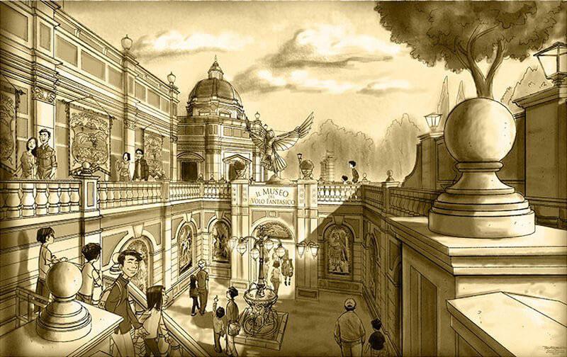 DisneySea Soaring Artwork 3