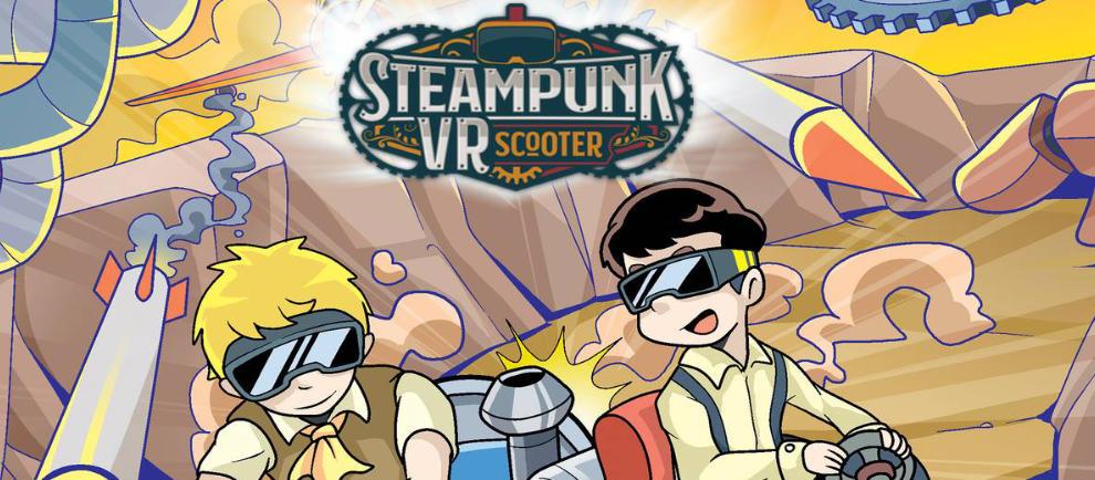 Erlebnispark Schloss Thurn Steampunk VR Scooter News