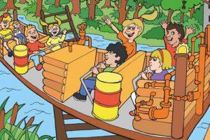 Familypark Wirbelsturm Konzept