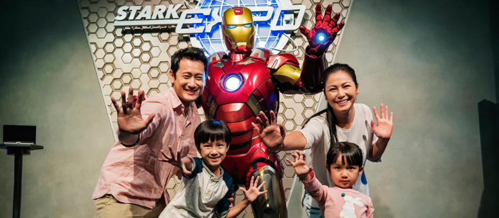 Hong Kong Disneyland Iron Man