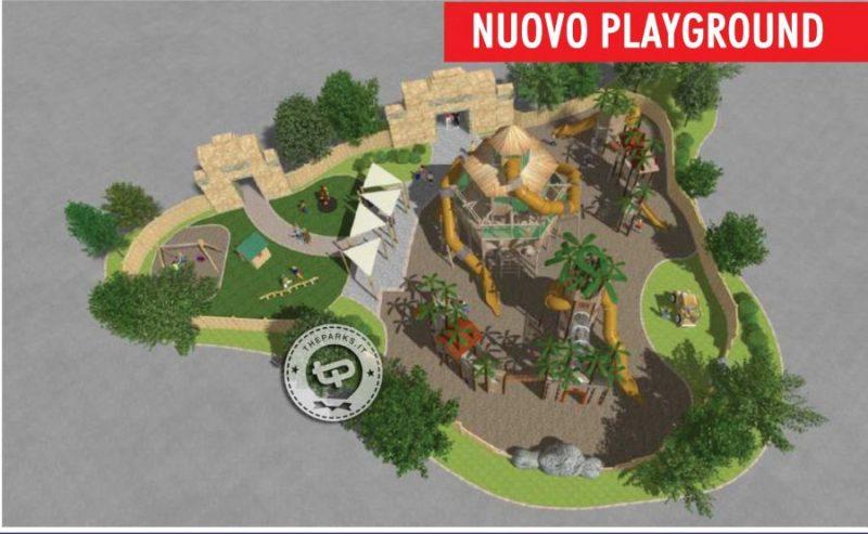 Rainbow Magicland Spielplatz Konzept