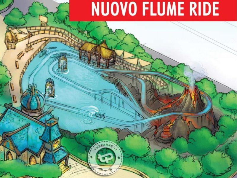 Rainbow Magicland Wasserbahn Konzept
