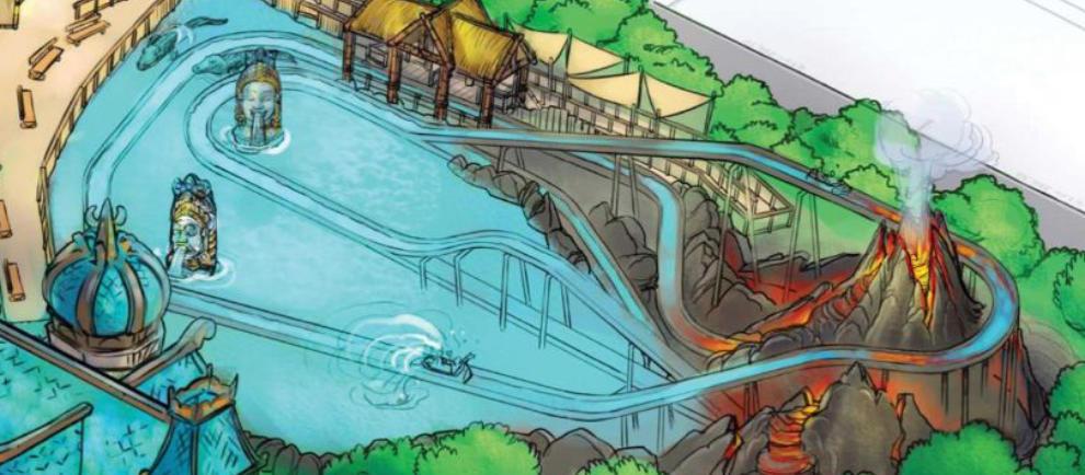 Rainbow Magicland Wasserbahn Konzept News