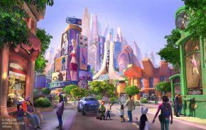 Shanghai Disneyland Zoomania Konzept Full