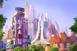 Shanghai Disneyland Zoomania Konzept News