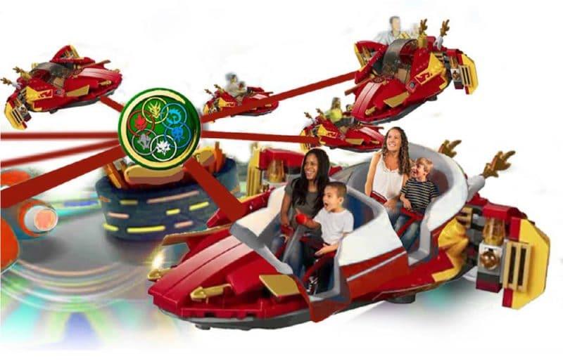 Legoland Japan Ninjago World Katana Konzept