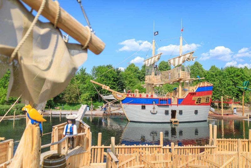"""Piratenwelt"" im Playmobil FunPark © Playmobil"