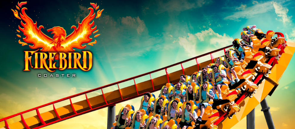 Six Flags America Firebird