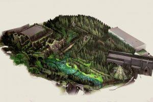 Die hoch thematisierte Achterbahn, führt durch zahlreiche Waldpassagen in denen man die zauberhaften Kreaturen aus der Harry Potter Welt antreffen wird. © Universal Studios Orlando