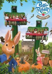 So wird Peter Rabbit Hippity Hop fertig aussehen © Alton Towers