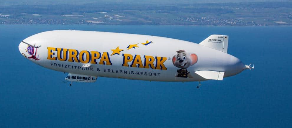 Mit Ed und Snorri den Bodensee von oben genießen © Europa-Park Resort