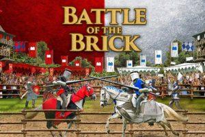 """Ritterliche Spiele im Legoland bei """"Battle of the Brick"""" © Legoland Billund"""
