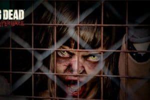 """Grausames erwartet die Besucher in """"The Walking Dead Experience"""" © Parque de Atracciones"""