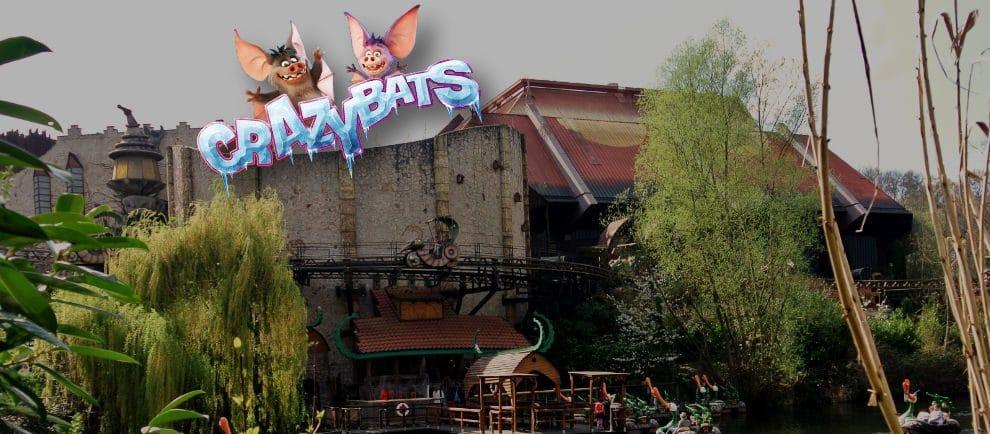 """Die """"Crazy Bats"""" ziehen im """"Temple of the Nighthawk"""" im Phantasialand ein © ThemePark-Central.de / MackMedia"""