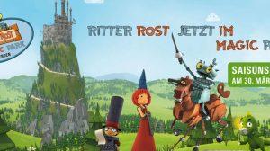 Aus dem Magic Park Verden wird nun der Ritter Rost - Magic Park Verden © Ritter Rost - Magic Park Verden