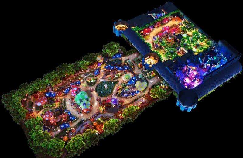 Eine Gesamtansicht auf den kommenden Freizeitpark. © KCC Entertainment Design