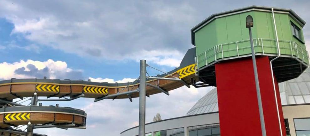 """Knappenrutsche"" © AQUApark Oberhausen"