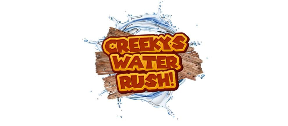 "Logo von ""Creeky's Water Rush"" © Camel Creek Adventure Park"