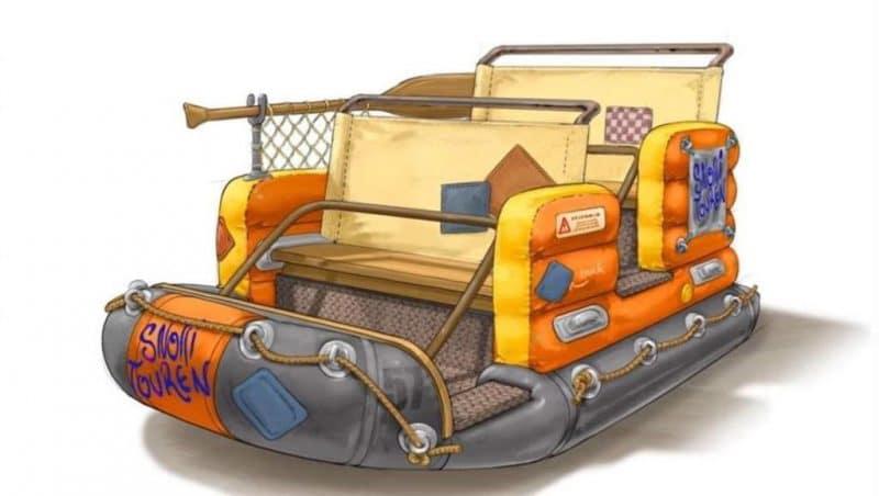 Konzept der Wagen © Europa-Park Resort