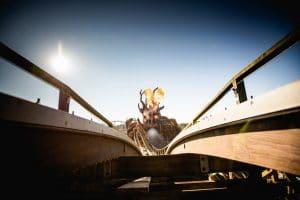 """Der neue """"Koloss"""", welcher den Kampf mit """"Colossos"""" nun aufnimmt © Heide Park Resort"""