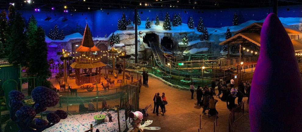 """""""Holiday Indoor"""" besticht doch eine tolle Gestaltung © ThemePark-Central.de"""