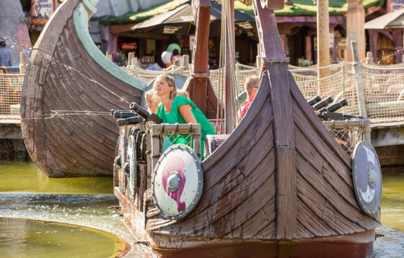 """Wickie The Battle"" © Plopsaland De Panne"