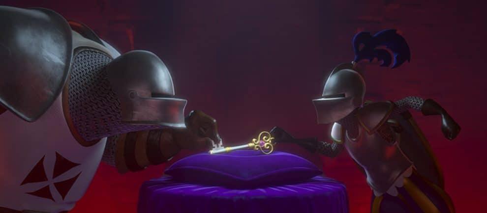 """Eine Szene aus """"Knights Quest"""" © nWave"""