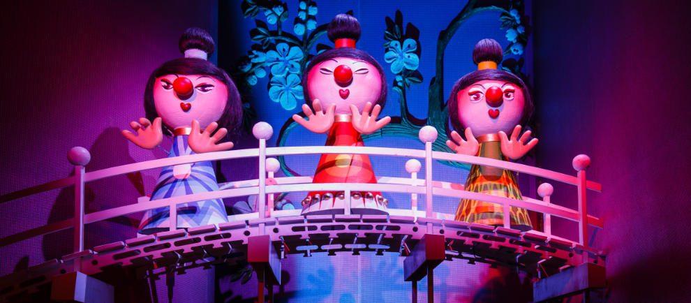 """""""Carnaval Festival"""" entführt die Besucher auch nach Asien © Efteling"""