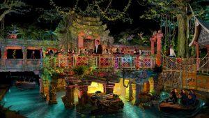 "So wird ""Bamboe Baai"" 2020 aussehen © Europa-Park Resort"