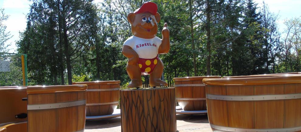 """""""Klotti Botti"""" ist eine weitere Neuheit der Saison 2019 © Wild- und Freizeitpark Klotten"""