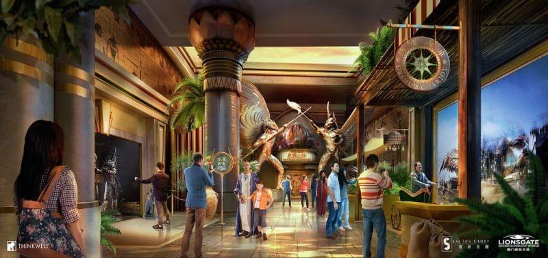 Lionsgate Entertainment Konzept World Gods of Egypt