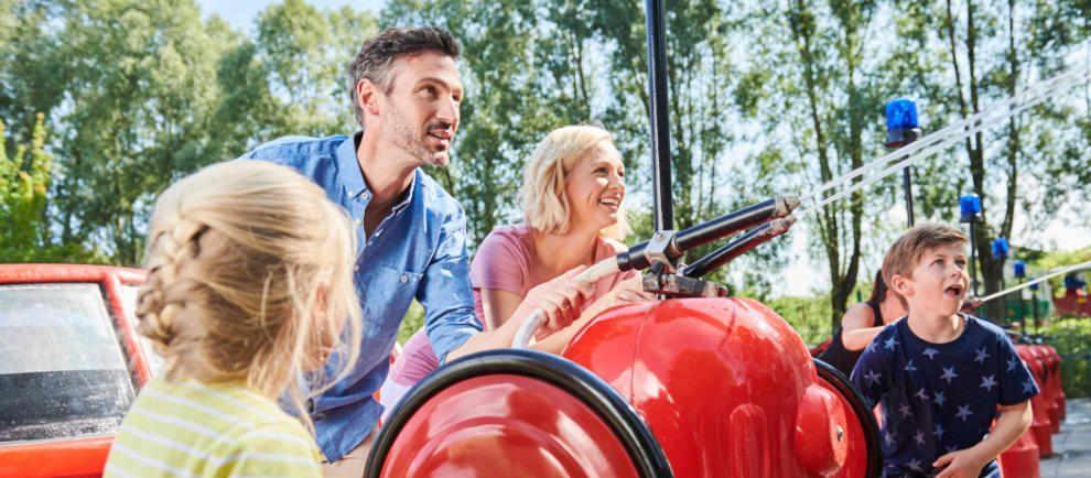 Mit der ganzen Familie einen tollen Tag verbringen. © Ravensburger Spieleland